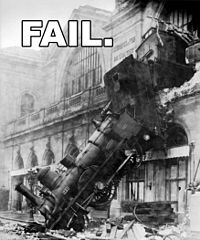 Train Wreck Fail from Wikipedia's Fail page