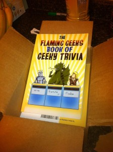 Print version of Geeky Trivia, in a box!